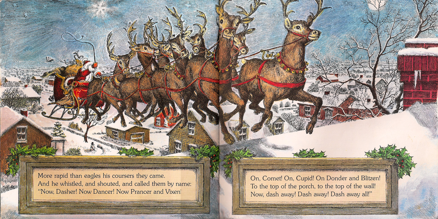 the night before christmas through the years - Night Before Christmas Book